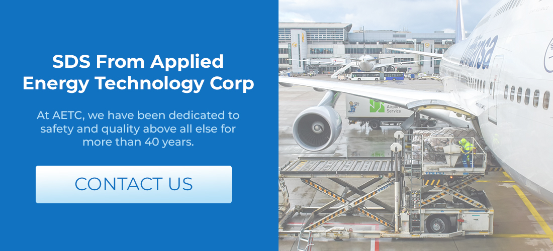SDS from Applied Energy Technology Corp